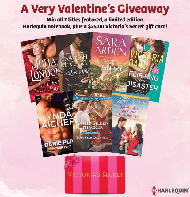 $25 Harlequin Valentines Giveaway
